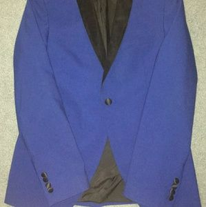 Other - Royal Blue Tuxedo Jacket/Blazer